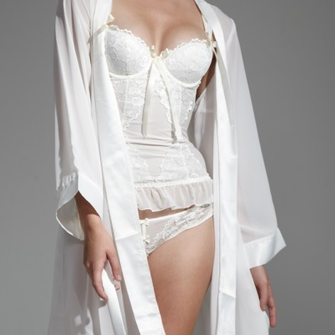guepiere bluebella brooke ivoire lingerie mariee - Guepiere Blanche Mariage