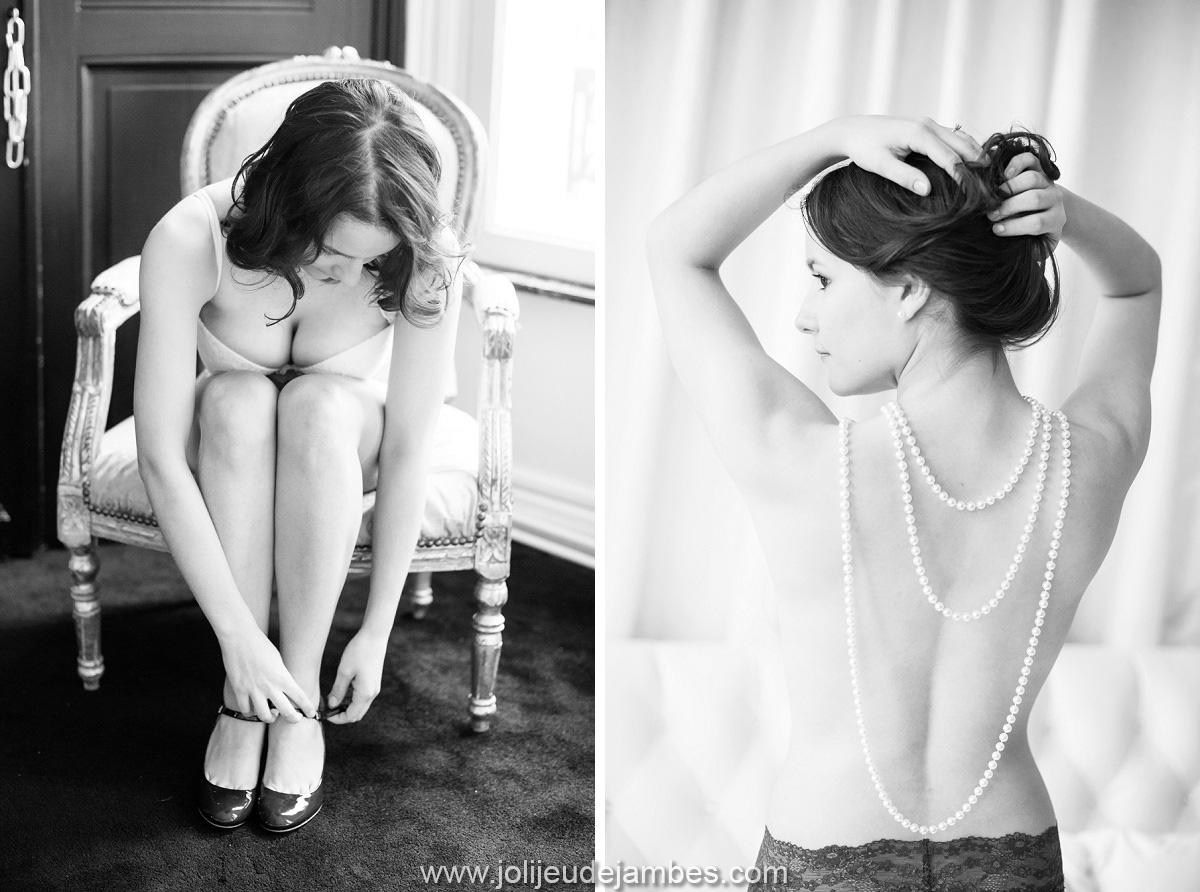 Idée cadeau mariage photographe boudoir lille de belles photos glamour, sexy, douces et feminines - séance photo lingerie lille