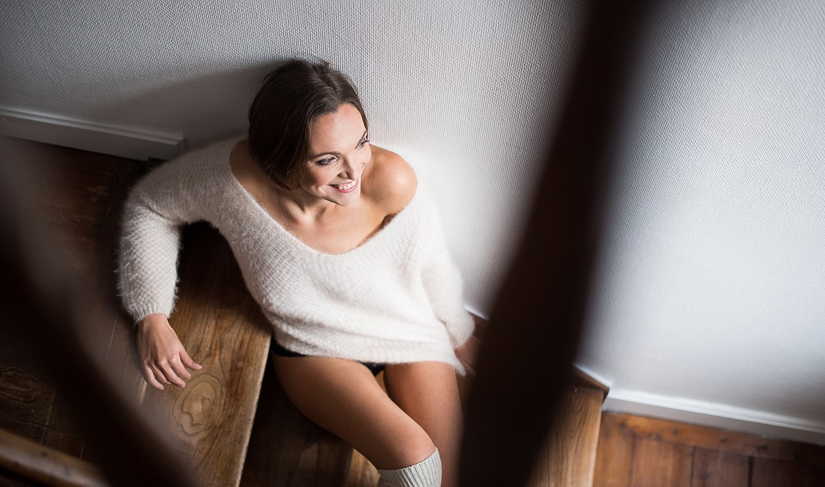 photographe lille boudoir en chambre d'hôte
