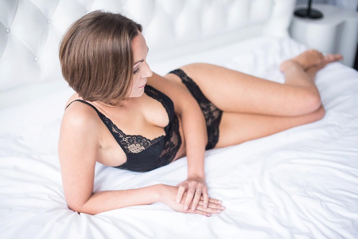 photographe lingerie nu boudoir en chambre d'hôte Lille