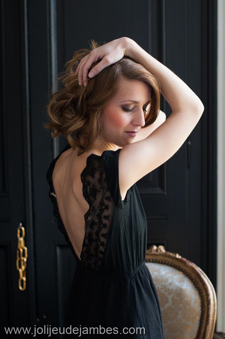 séance photo portrait glamour à Lille photographe femme