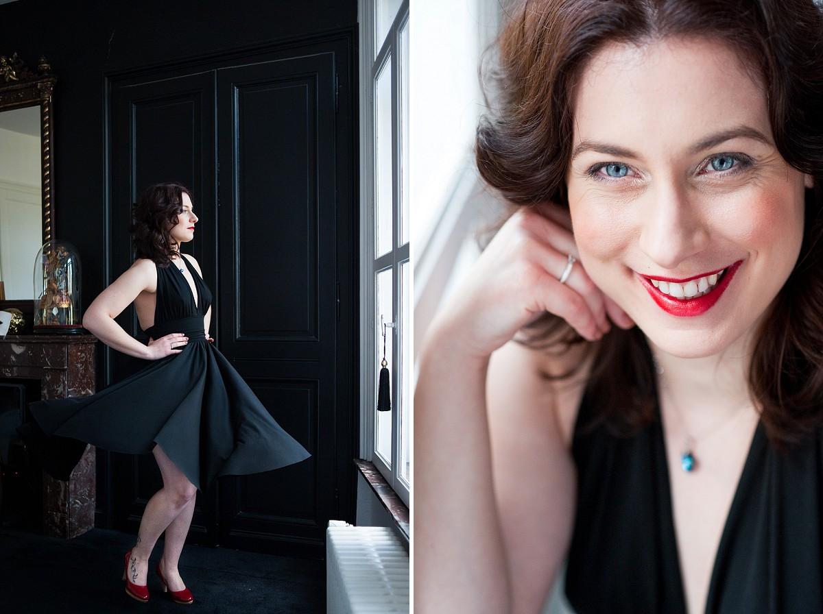 portrait glamour Lille mise en valeur de la femme par une phootgraphe expérimentée dans le nord