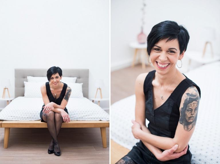des portraits remplis d'émotions et de joie avec joli jeu de jambes photographe femme lille