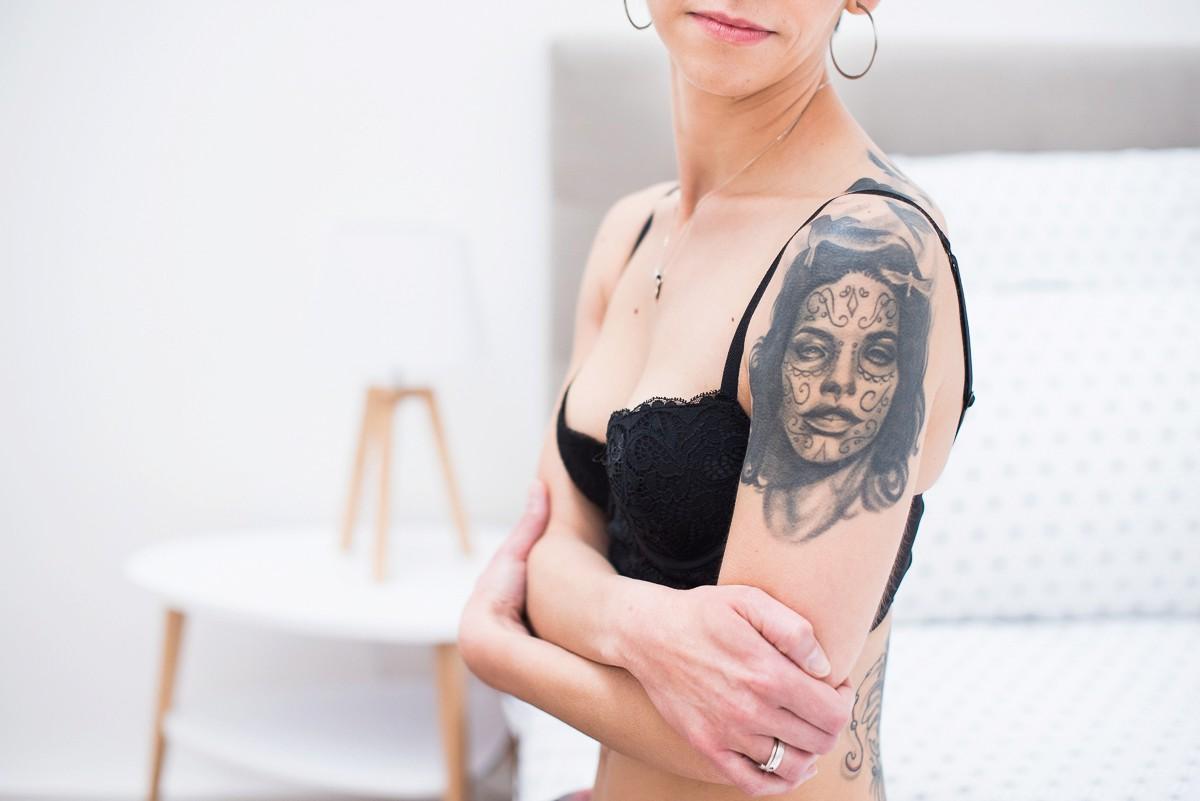 portrait lingerie de femme photographe boudoir lille nord