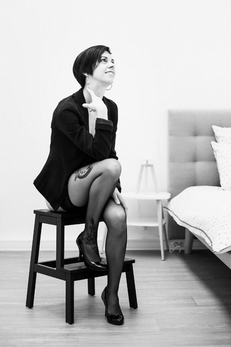 portrait glamour à lille photographe lingerie nord pas de calais