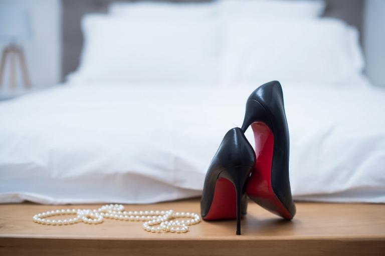 chaussures louboutin pour une séance photo glamour à Lille